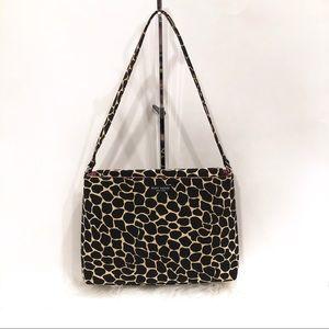 KATE SPADE NEW YORK Giraffe Print Shoulder Bag